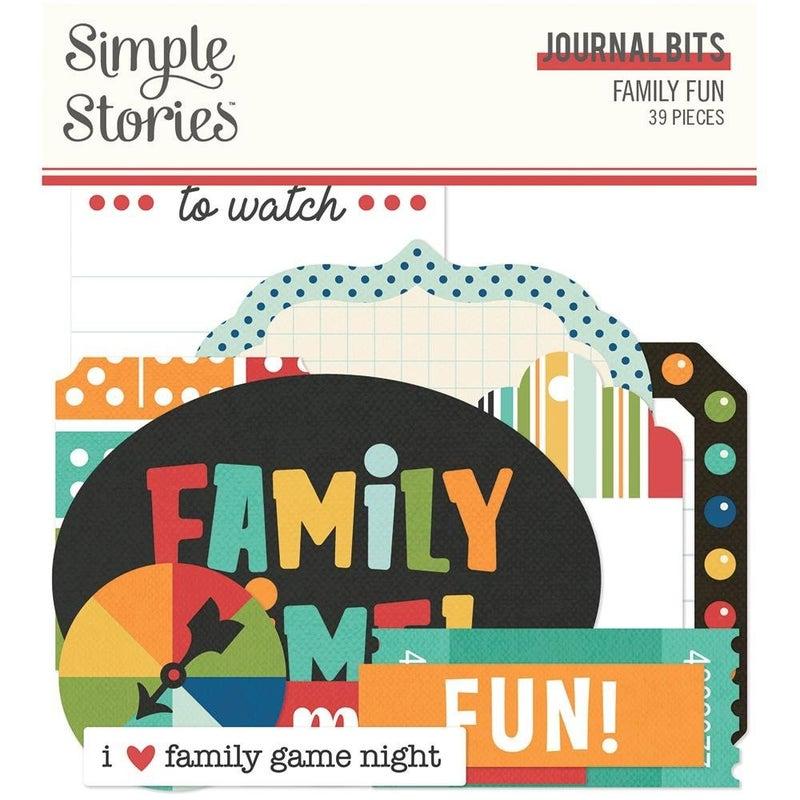 Family Fun Journal Bits Die Cuts