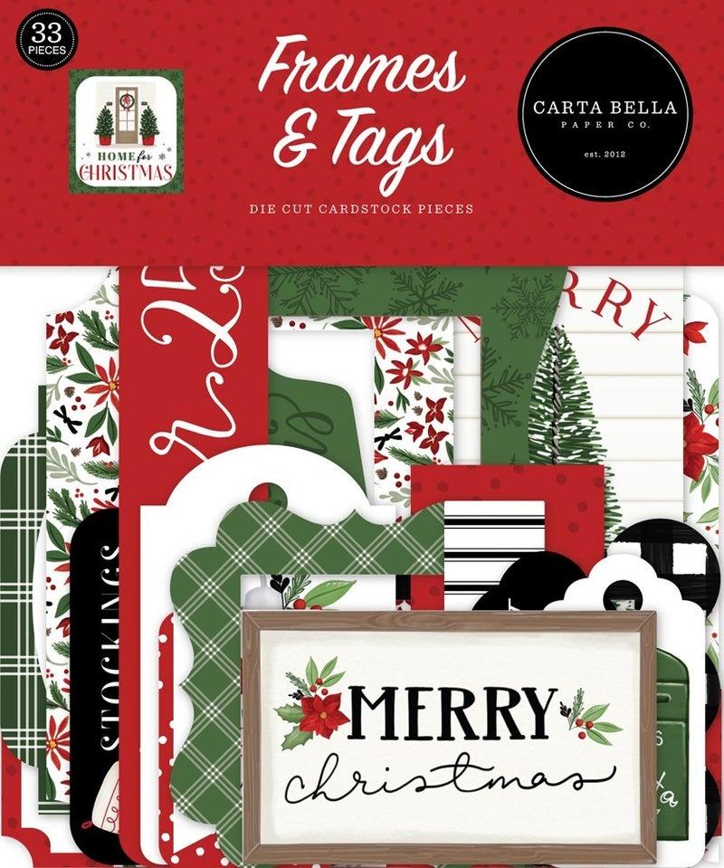 Home for Christmas Frames & Tags