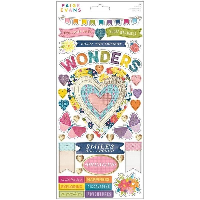 Wonders 6x12 Stickers