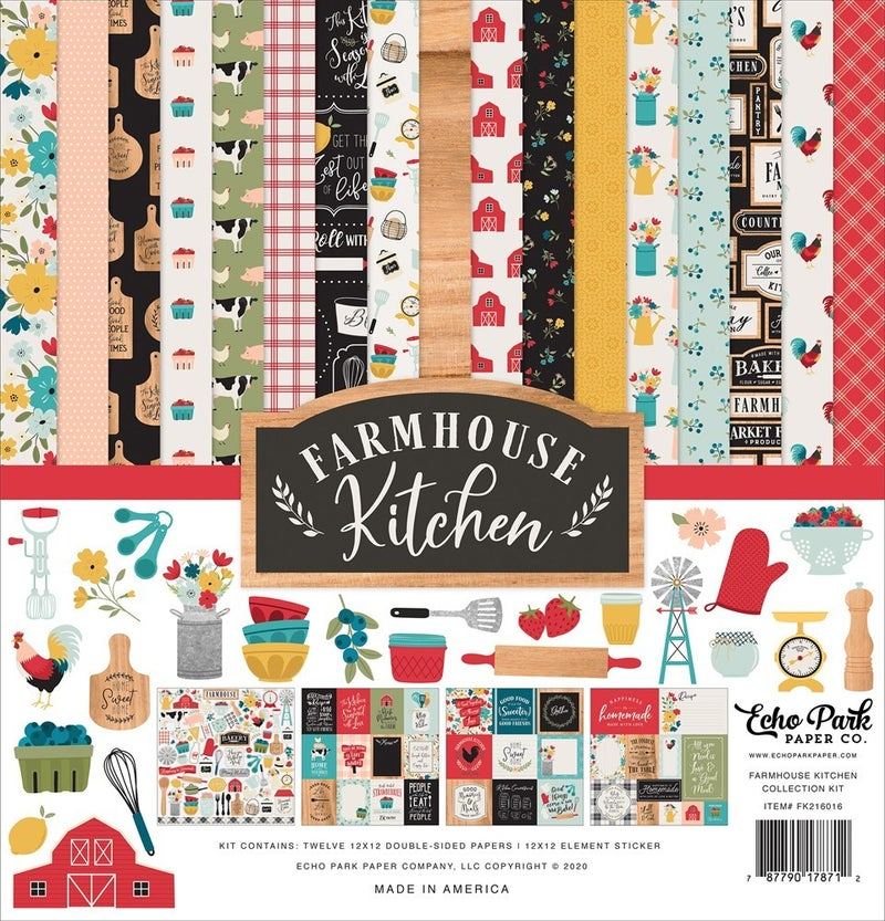 Farmhouse Kitchen Paper Pack