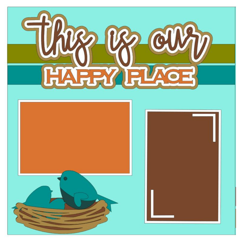 This is Our Happy Place Kit