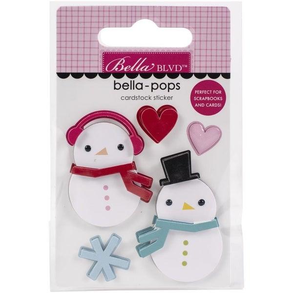 Snow in Love Snowman Bellapop