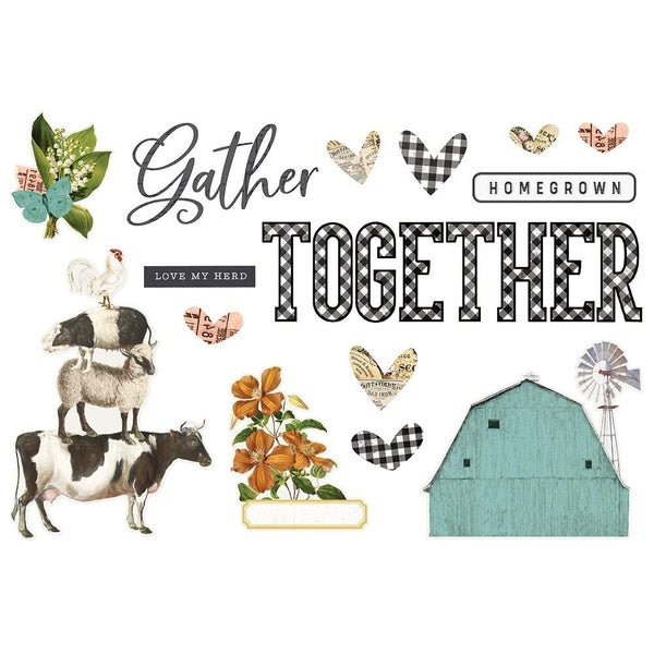 Simple Stories Page Pieces - Gather Together