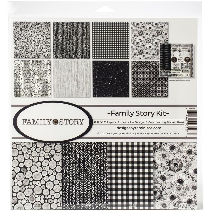 Family Story Paper Pack