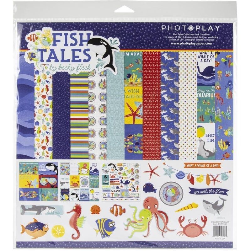 Fish Tales Paper Pack