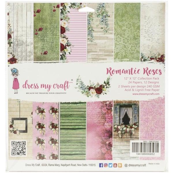 Romantic Roses Paper Pad