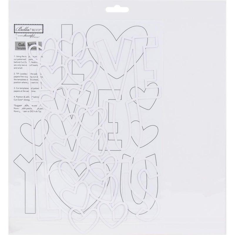 Bella Besti Cutouts - Love You