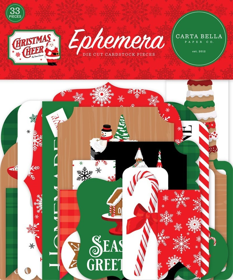 Christmas Cheer Ephemera