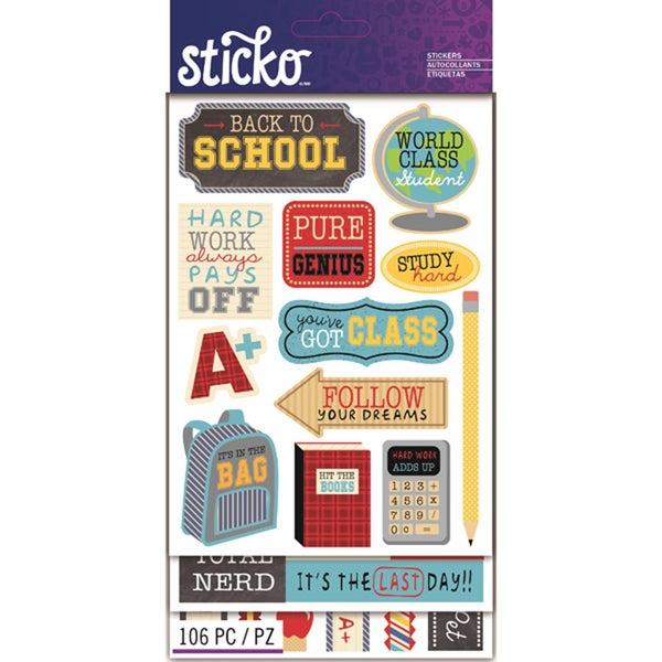 School Sticker Pack