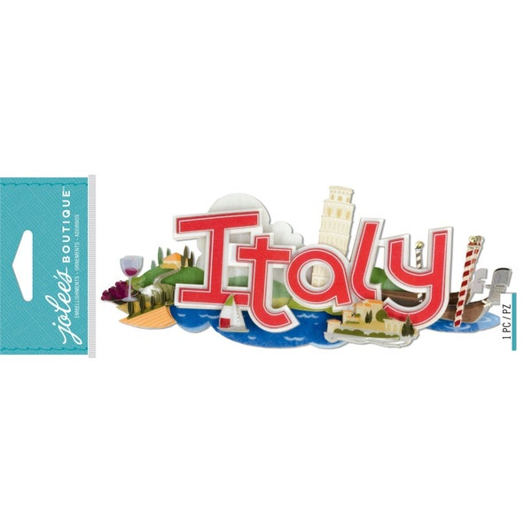 Italy 3D Title