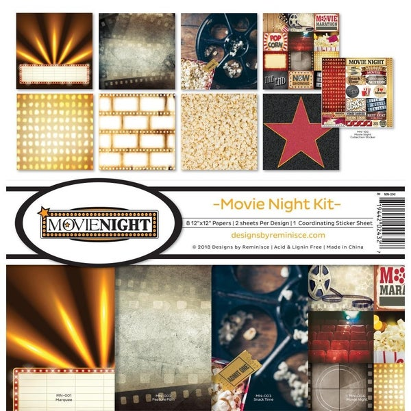 Movie Night Paper Pack