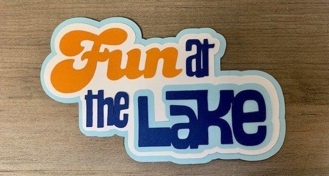 Fun at the Lake Paper Piecing