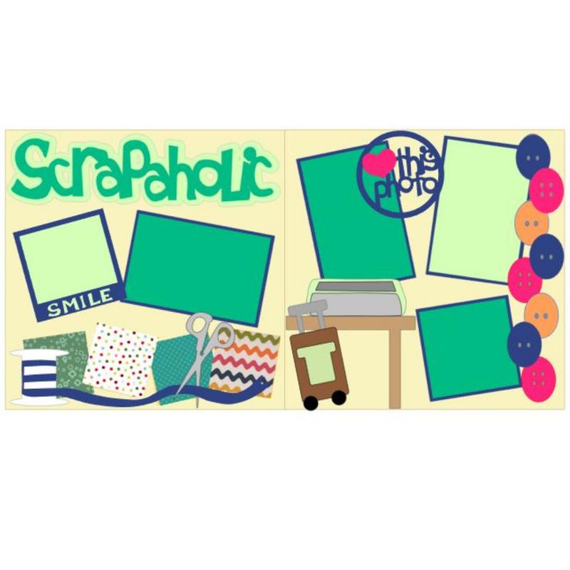 Scrapaholic Page Kit