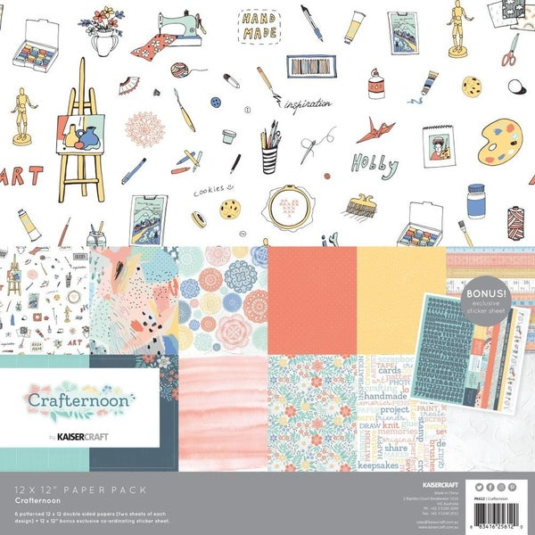 Crafternoon Paper Pack