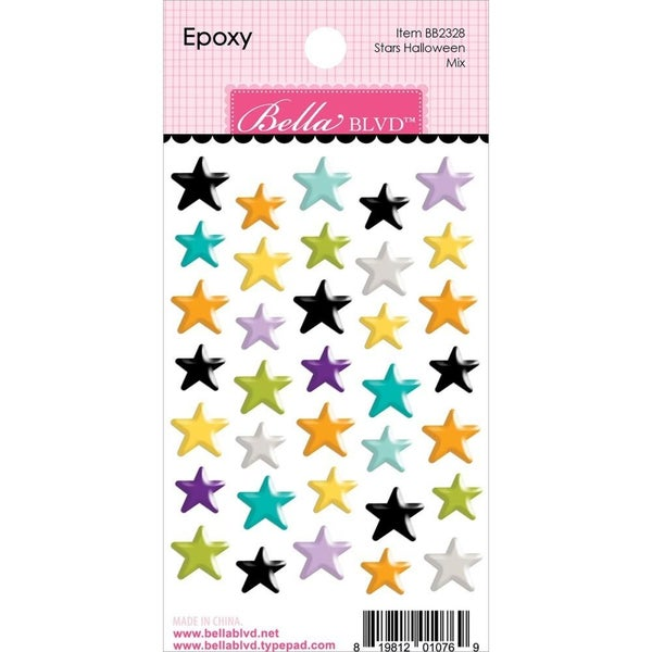 Monsters & Friends Epoxy Stars Stickers