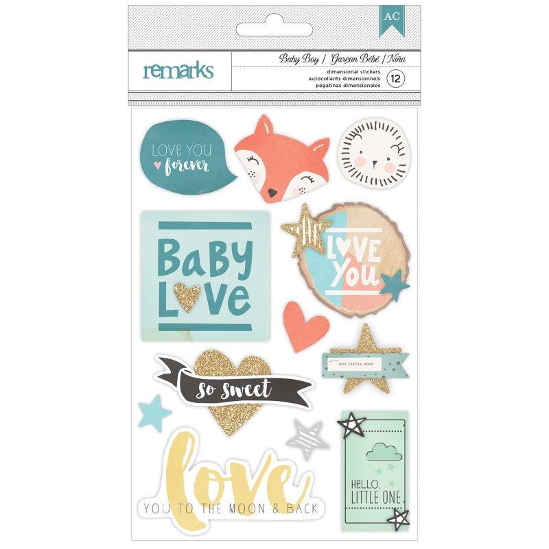 Baby Boy 3D Sticker