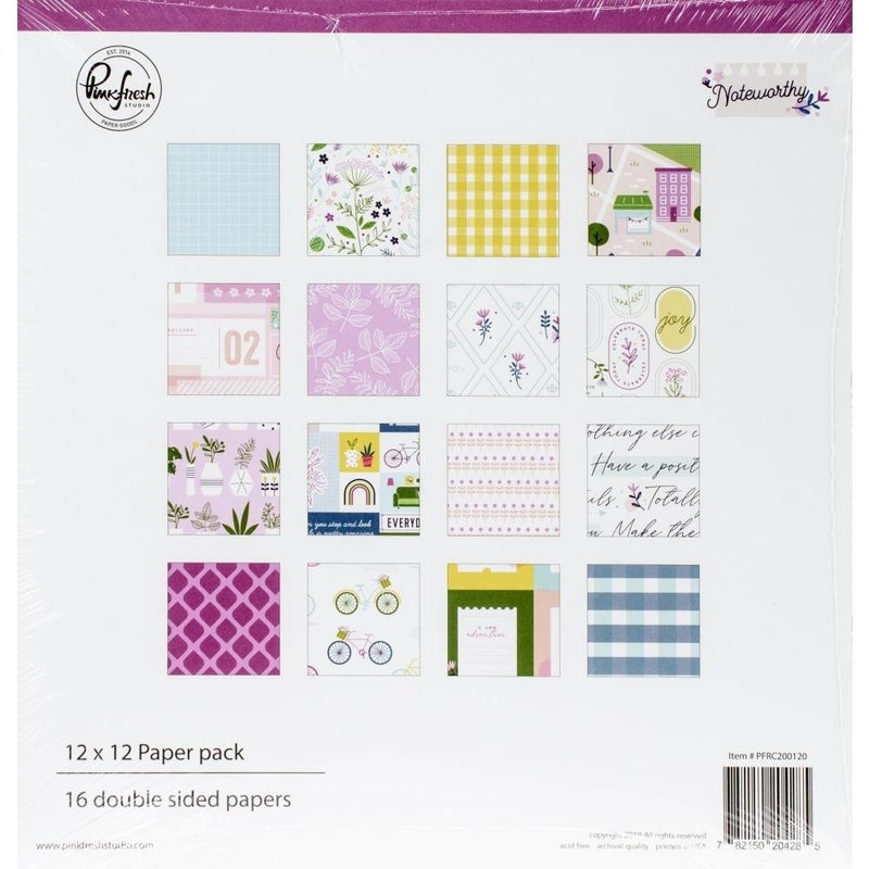 Noteworthy paper pack