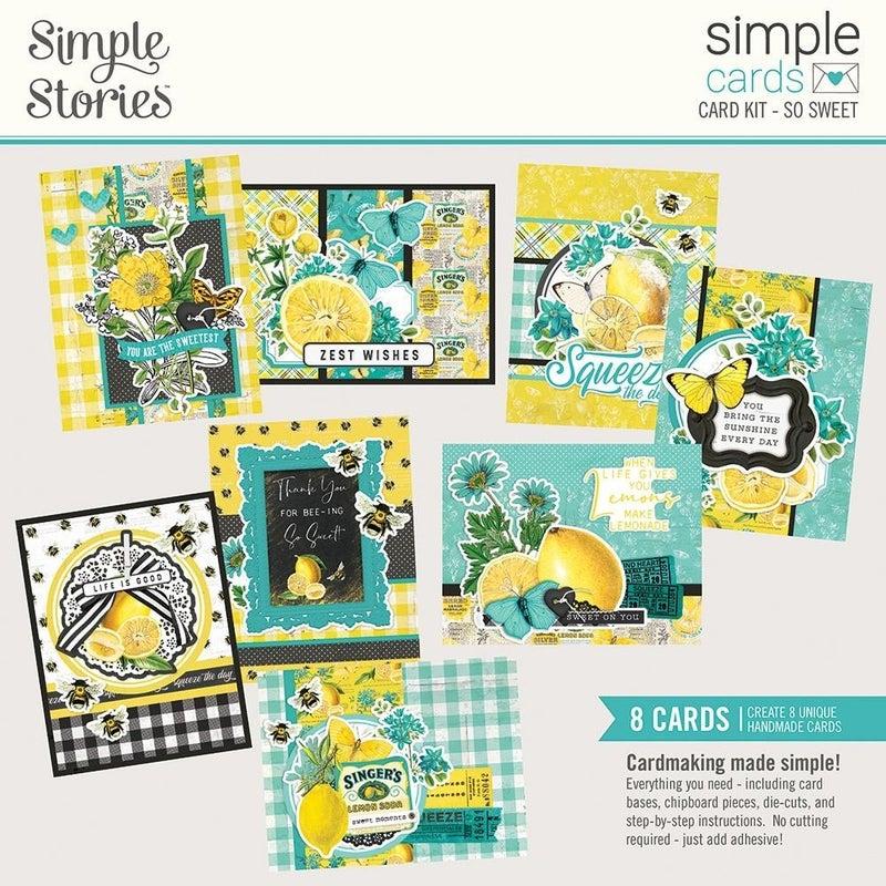 Simple Cards Card Kit - Lemon Twist So Sweet