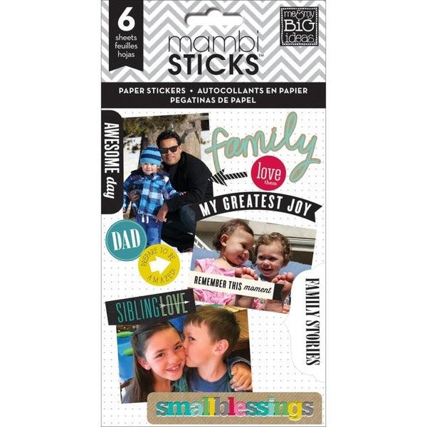 Family Sticker Book