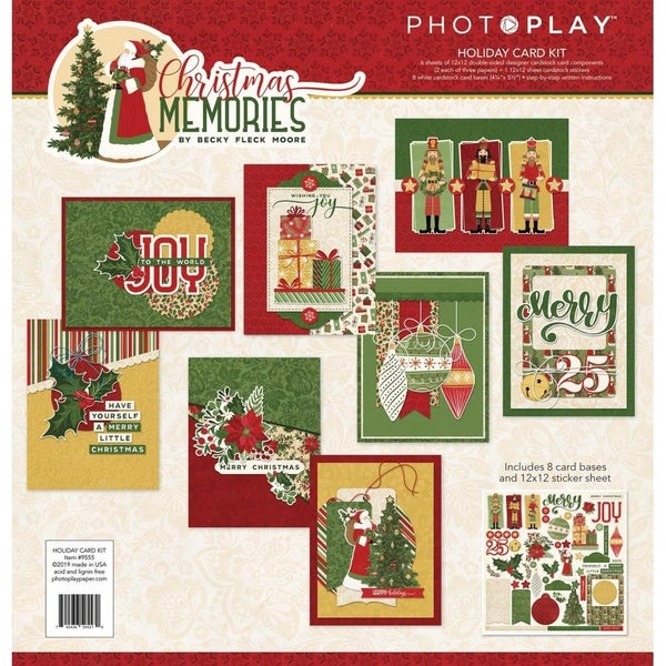 Christmas Memories Holiday Card Kit