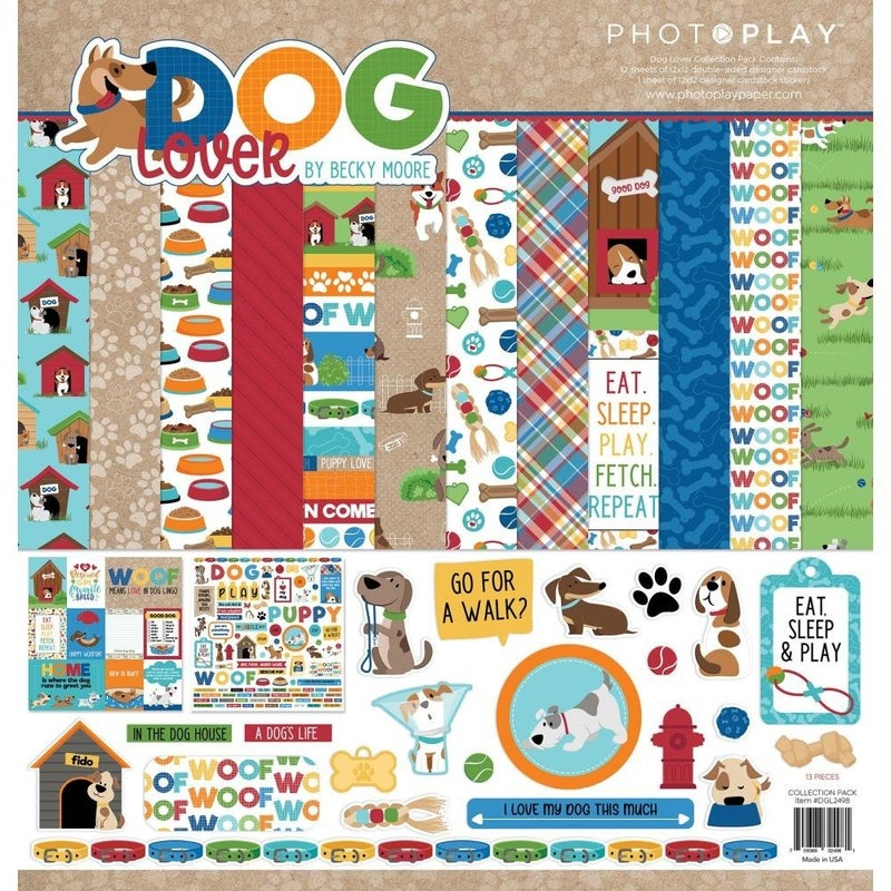 Photoplay Dog Lover Paper Pack