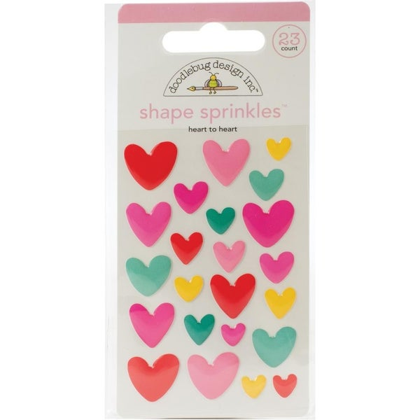 Heart to Heart Enamel Shapes
