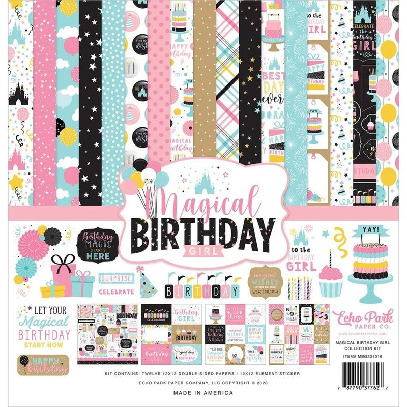 Disney Magical Birthday Girl Paper Pack