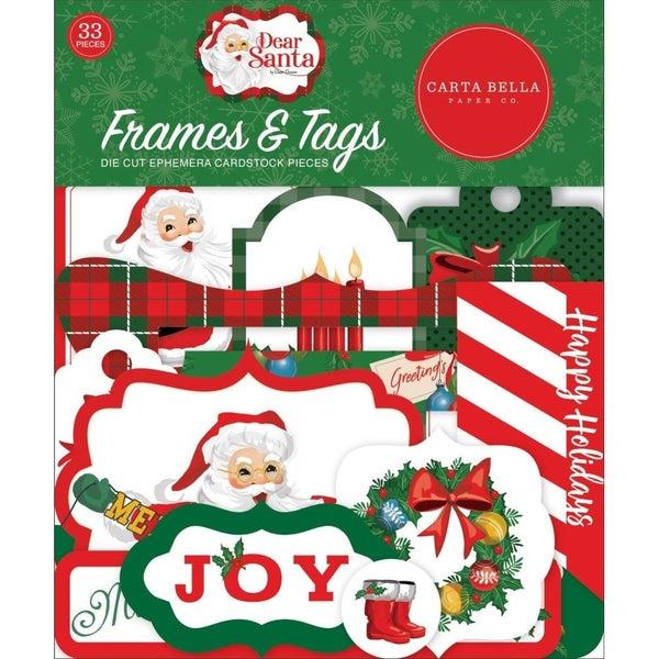 Dear Santa Frames/Tag Die Cuts