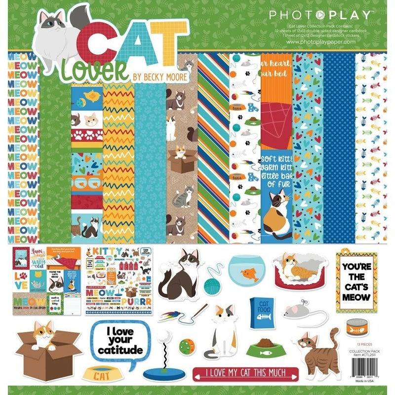 Photoplay Cat Lover Paper Pack