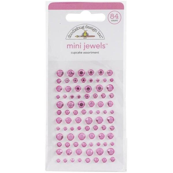 Doodlebug Mini Jewels - Cupcake