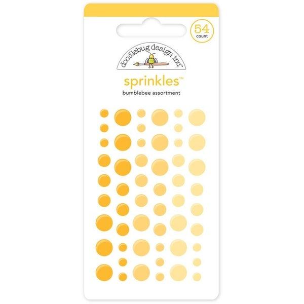 Doodlebug Sprinkles - Bumblebee Yellow