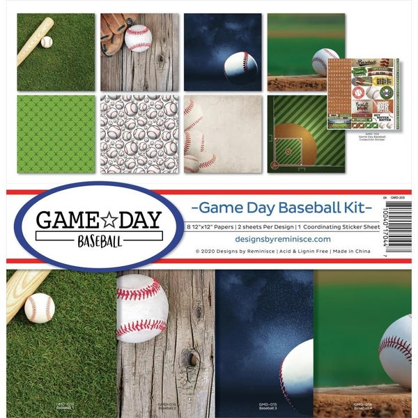 Game Day Baseball Paper Pack