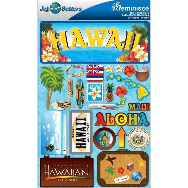Jet Setters Hawaii Stickers