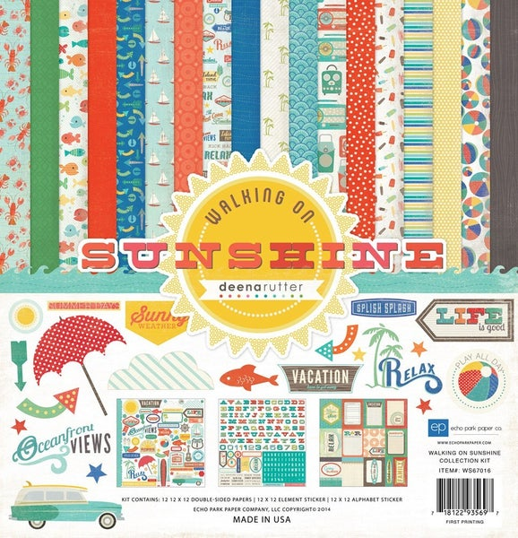 Walking on Sunshine Paper Pack