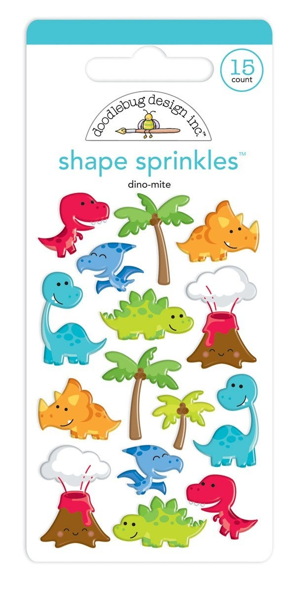 Dino-Mite Dinosaur Shapes Sprinkles