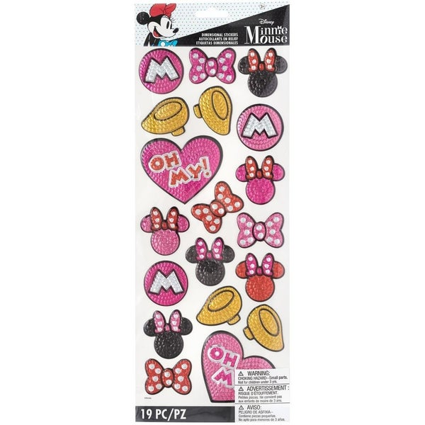 Disney Minnie Sequin Stickers