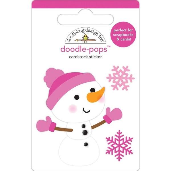 Crystal Snowman Doodlepop