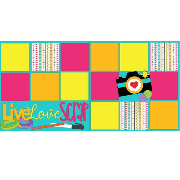 Live Love Scrap Kit