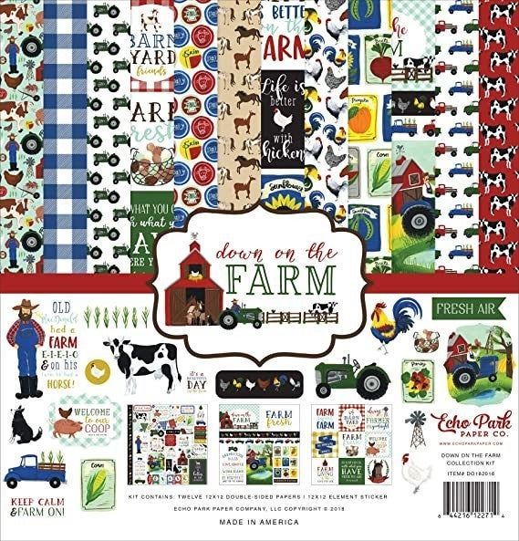 Down on the Farm Collection Kit