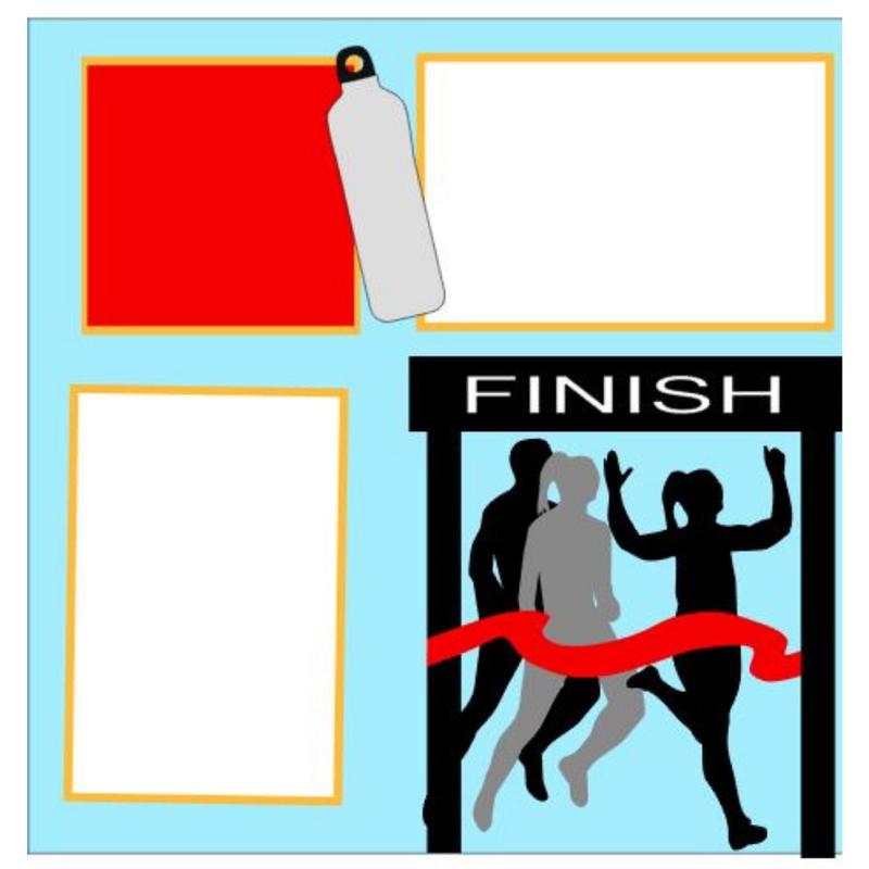 Race Day 5K Girl kit