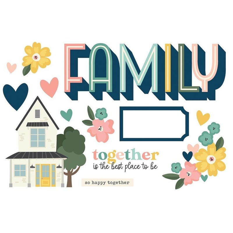 Family Page Pieces