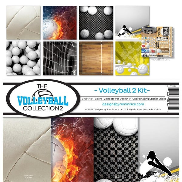 Volleyball Paper Pack
