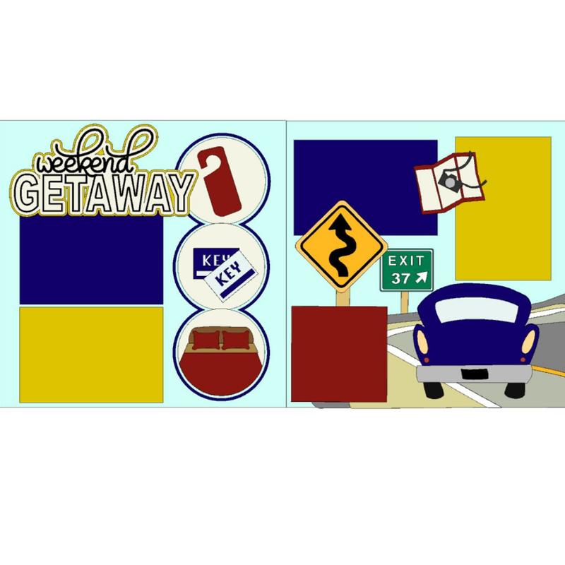 Weekend Getaway Page Kit