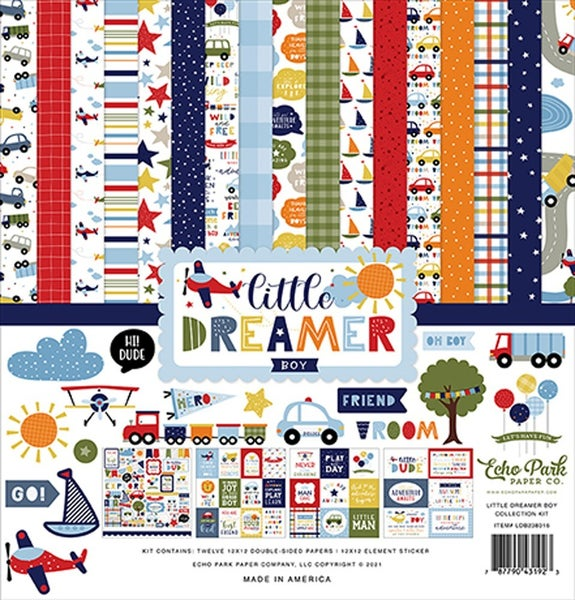 Little Dreamer Boy Paper Pack