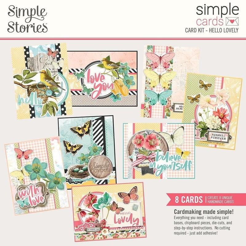 Hello Lovely Card Kit