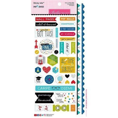 Pop Quiz School Stickers