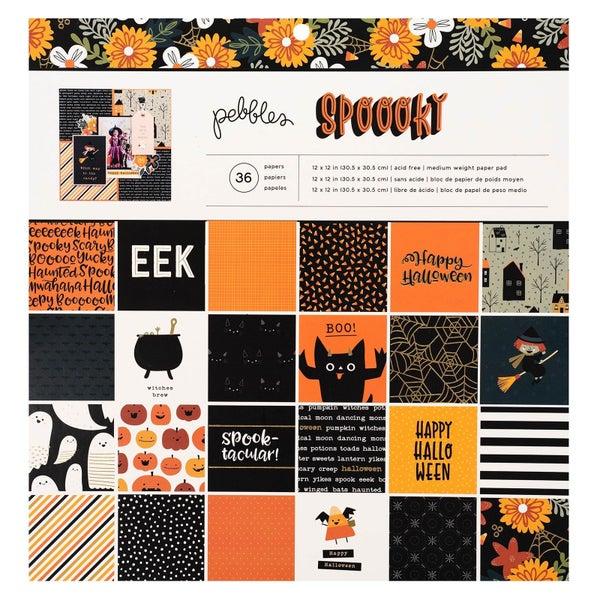 Spoooky Halloween Paper Pad