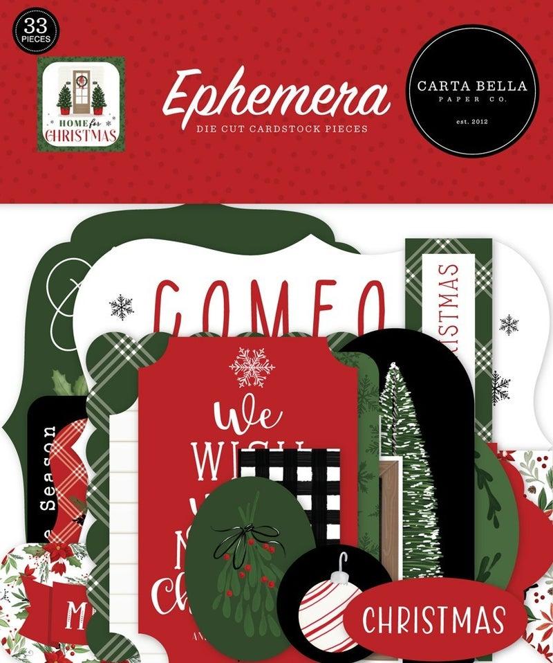 Home for Christmas Ephemera