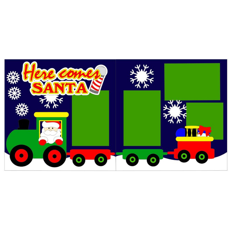 Here Comes Santa Train Kit