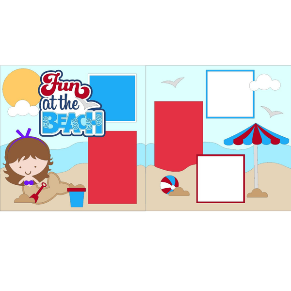 Fun at the Beach Girl Kit